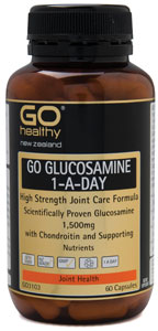 GO Healthy Glucosamine 1-A-Day Twin Pack 2x60caps